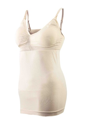 Eve Maternity beige Nursing Tank Top Basic EV584US91PWEID_1