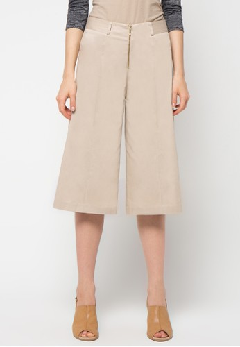 WHITEMODE brown Alissa Trouser WH193AA12CQXID_1