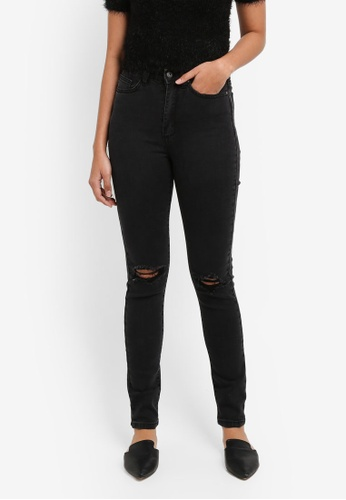 Factorie black The High Rise Skinny Jeans BFCA0AA5E509BBGS_1