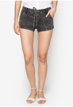 Love Lace Up Shorts
