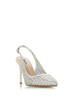 e0f7960cfa5d 10% OFF Dune London Weave Detail Slingback Court Heels RM 485.00 NOW RM  436.90 Available in several sizes
