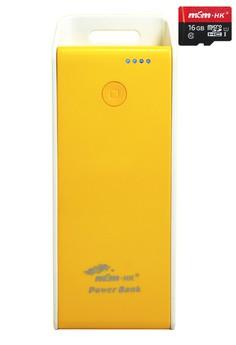 PowerBank 6800mAh With FREE 16gb microSD card CLASS10