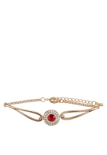 Ruby 閃鑽寶石手鍊, 飾esprit home 台灣品配件, 飾品配件