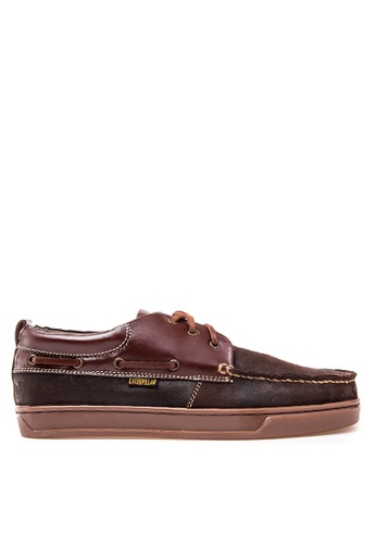 Caterpillar brown Boat Shoes CA367SH12KXRPH_1