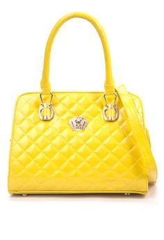 Victoria Pipper Structured Crown Bag