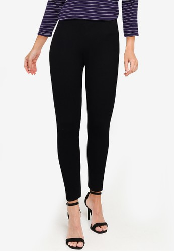 OVS black Basic Stretch Leggings BFBC4AA279F735GS_1