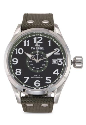 TW Steel green Volante VS21 Watch 8E190AC52B40C2GS_1