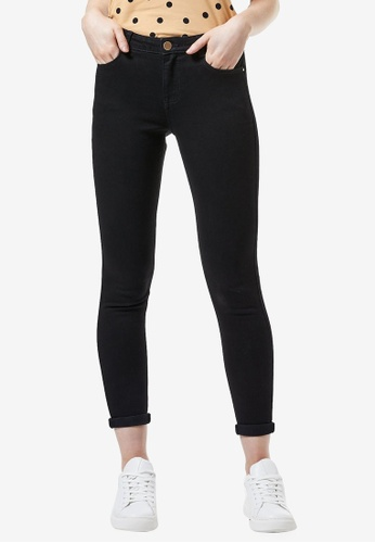 Dorothy Perkins black Mid Rise Skinny Jeans 17A94AA5C26021GS_1