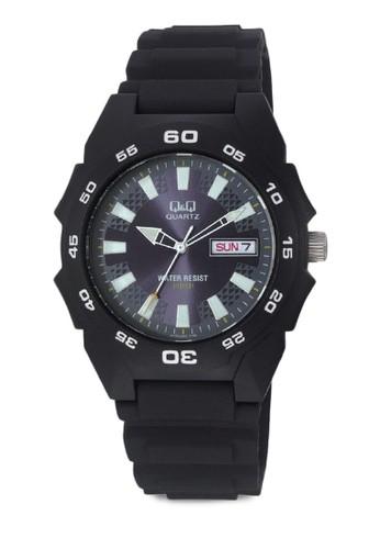 Q&Q A170J005Y 防水休閒手錶, 錶類, 其它zalora 台灣門市錶帶