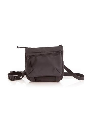 RYZ black RYZ Convenient Sling Pouch Black Bag. DA024ACD3783ECGS_1