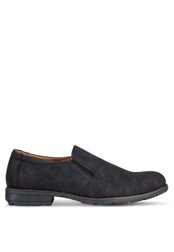 Rocklander black Casual Slip On Shoes RO978SH0RGYQMY_1