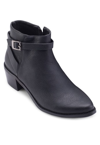 Nile 飾帶高跟esprit hk store踝靴, 女鞋, 鞋