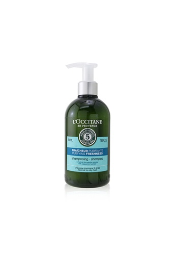 L'OCCITANE L'OCCITANE - Aromachologie Purifying Freshness Shampoo (Normal to Oily Hair) 500ml/16.9oz A86B3BE7CF346FGS_1