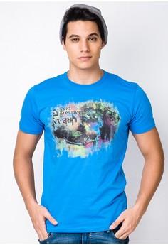 Round Neck Graphic Shirt