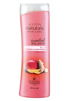 Avon Naturals Essential Balance Mango and Ginger 2-In-1 Shampoo and Conditioner