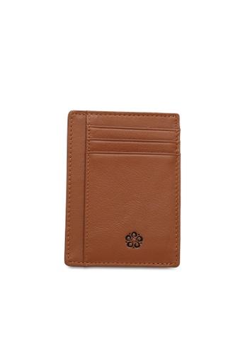 Wild Channel brown Card Holder 0325CAC4BDF403GS_1
