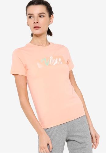 361° pink Cross Training Short Sleeve T-shirt AC082AA2A7FEE4GS_1