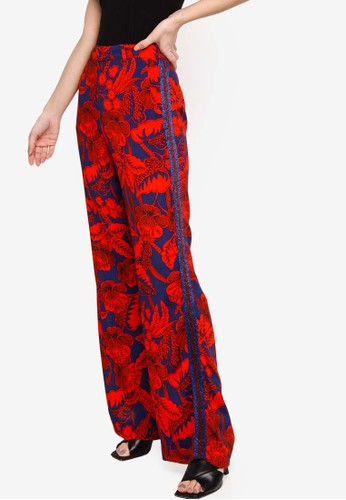 Desigual red Eritrea Pants 50240AAC22583AGS_1