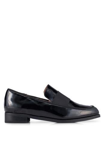 ZALORA black Loafers with Strap Detail 3C1C9SHC049604GS_1