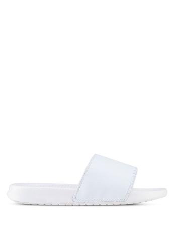 Just Hype white Crest Sliders D4EB4SH378CA5EGS_1