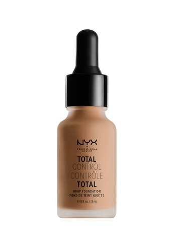 NYX Professional MakeUp brown NYX PROFESSIONAL MAKEUP Total Control Drop Foundation - Camel 590ADBE19F7755GS_1
