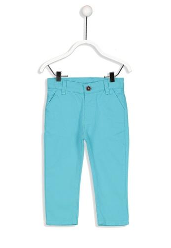 LC Waikiki blue Baby Boy's Gabardine Chino Trousers 01052KA9DF0D11GS_1