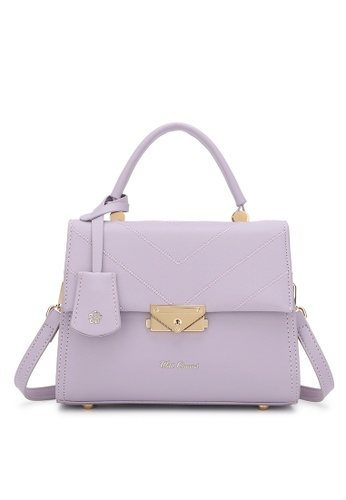 Wild Channel purple Top Handle Bag 9F2C3AC7CF5AF6GS_1