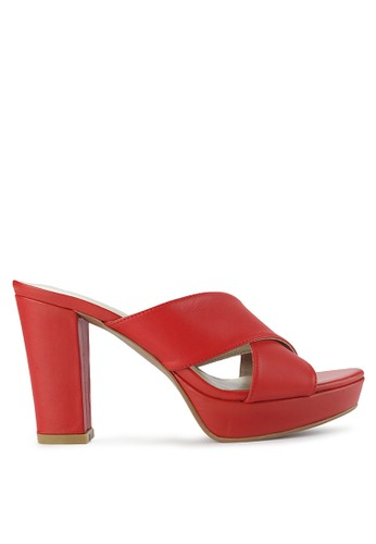 Elle red Ladies Shoes 30110Za B7172SH390FCF6GS_1