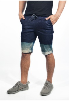 Men's Washed Coutour Shorts