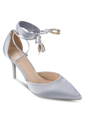 纏繞式踝帶側空高跟鞋、 女鞋、 細帶高跟鞋Sidewalk纏繞式踝帶側空高跟鞋最新折價