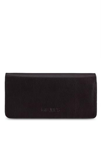 Miajee's brown Elegant Passport Travel Organiser Handcrafted Leather - Brown E0D96AC1BD6D7EGS_1