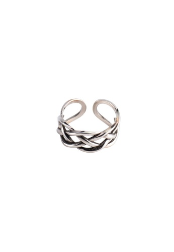 A-Excellence silver Premium S925 Sliver Mesh Ring 7147AAC348E51DGS_1