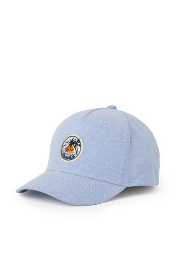 H&M blue Embroidered-Detail Cotton Cap CBF59KC3F9ED2DGS_1