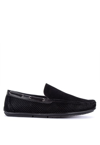 Italianos black Axel Loafers 0B13ASH3AF8547GS_1