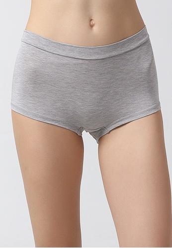 Tani grey Tani  Women's MicroModal® AIR Boy Short Panty 6950 BB33CUS470EBD5GS_1