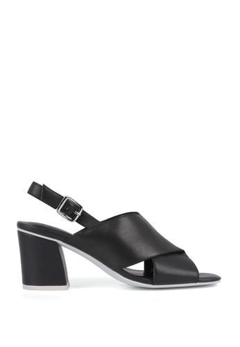 Miomia 黑色 粗高跟涼鞋 1F90CSHE94960CGS_1