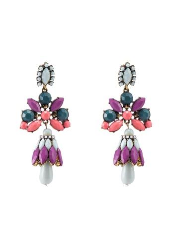 Colour Burst Statement Earrings