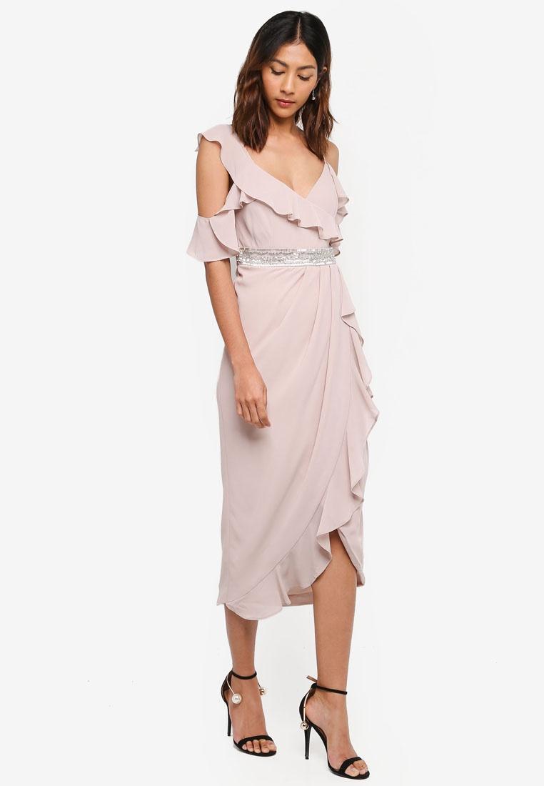 Pink TFNC Elsa Dress Dress Elsa Iq06pvO