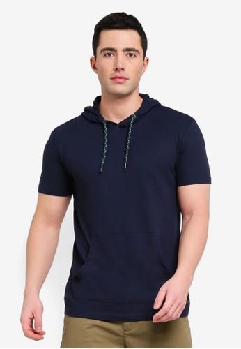 ESPRIT navy Short Sleeve T-Shirt D3145AA0776AE1GS_1