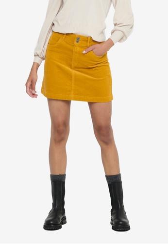 JACQUELINE DE YONG gold Era Life Short Skirt 06399AAB43962BGS_1