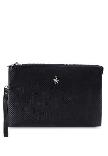 Swiss Polo black Clutch Bag 66F21ACBE357B1GS_1