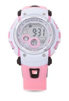 Girls Rubber Strap Watch MXJ 8573420
