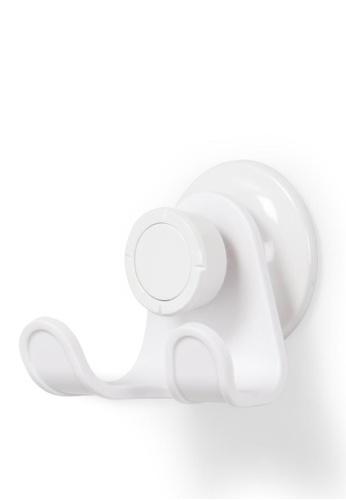 Umbra white Flex Gel-Lock Double Hook 4D50EHL2EE56DCGS_1
