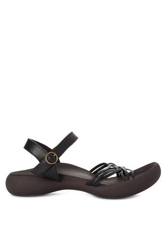 RegettaCanoe black Oxalis Sandals RE095SH0JDMFPH_1