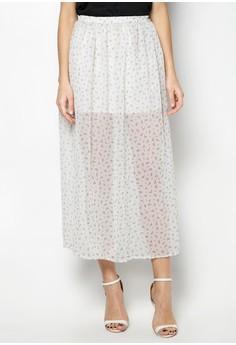 Kheaz Chiffon Maxi Skirt