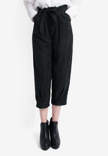 Tokichoi black Slim Pants with Waist Ribbon 52B39AA87F656FGS_1