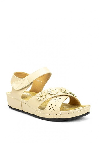 Cardam's Lifestyle beige CLS 88748 Beige Sandals ADAA8SHF1ACDB7GS_1