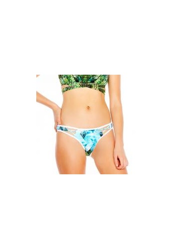 HEAVEN swim australia green and blue and multi Oasis Cross Over Pant 8054AUS929436BGS_1