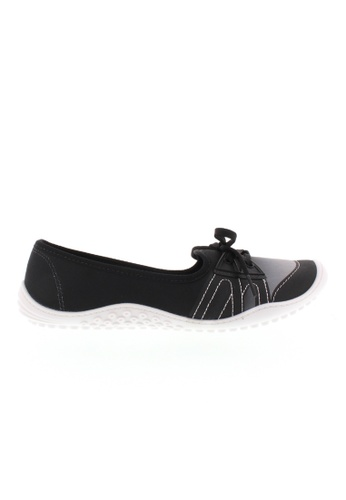 Beira Rio black and multi Laced Up Casual Gradient Sneakers BE995SH92ZTRHK_1