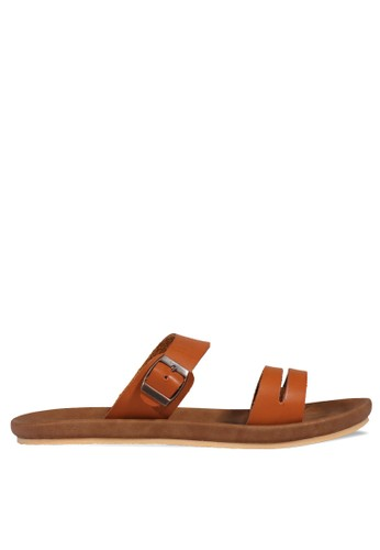 OR-K689 brown OR-K689 Sendal MOCKU Tan OR633SH75ZBWID_1